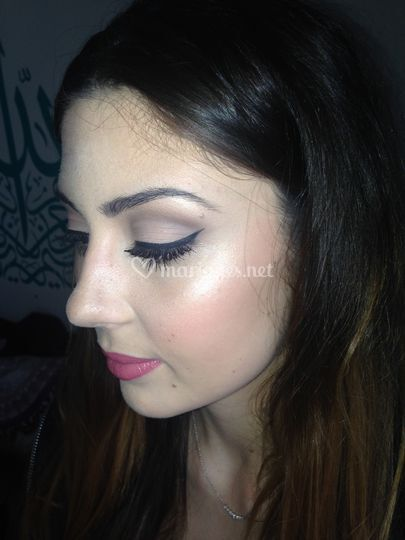 Maquillage invitée