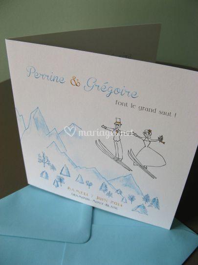 Hiver & saut à ski