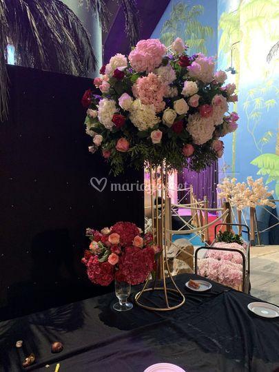 Bouquet buffet mariage
