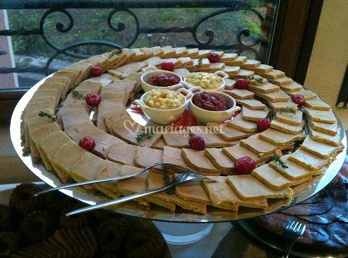 Buffet Foie gras de canard