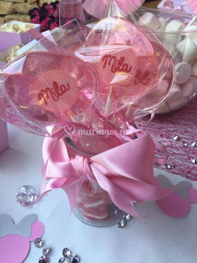 Sucette cadeau mariage anniv