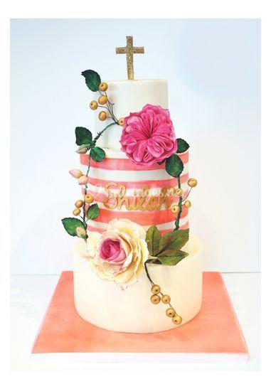 Wedding cake sans pâte à sucre