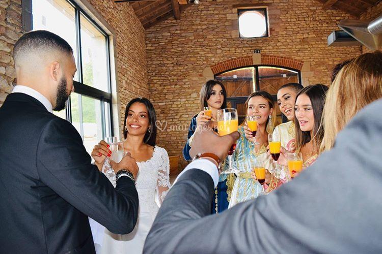 Toast invités