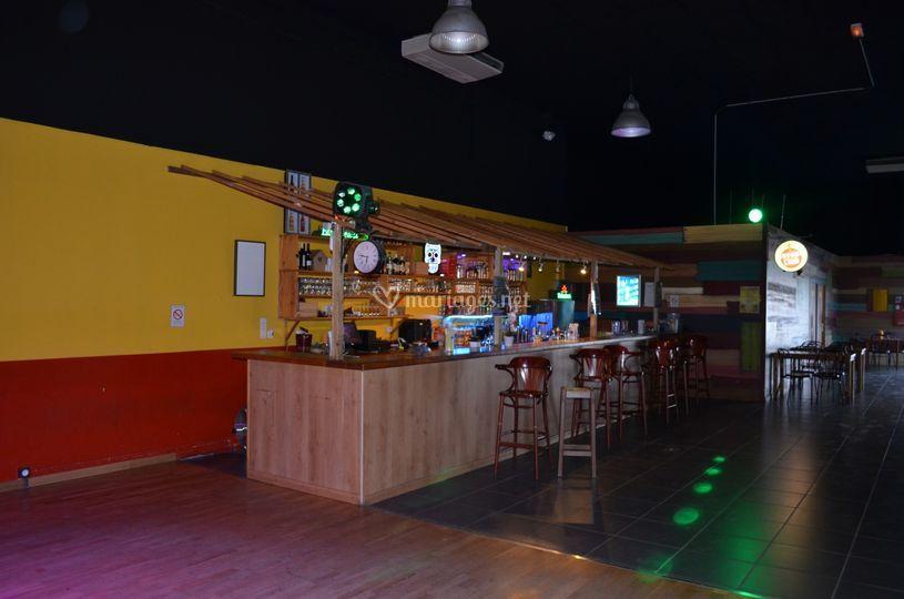 Bar dans la salle