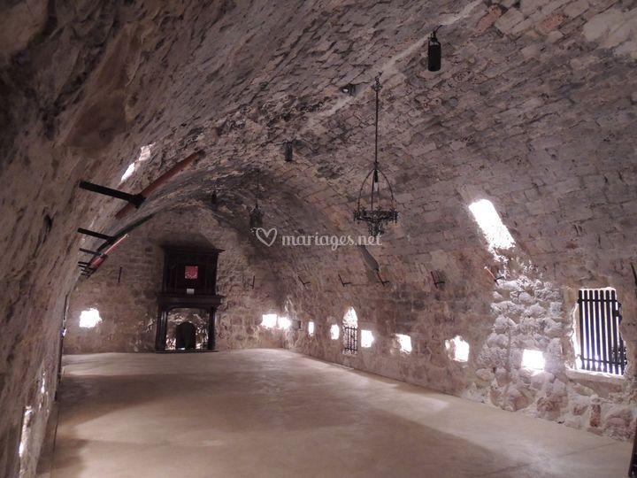 Salle voutée XIIème siècle