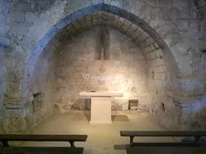 Chapelle VI ème siècle