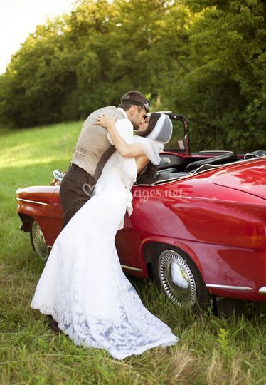 Mariage classic car