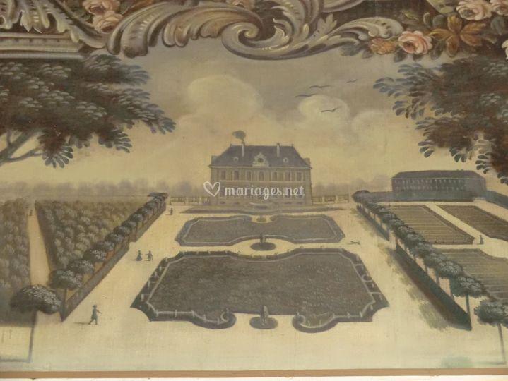 Mesnil d'O, toile du XVIIIe