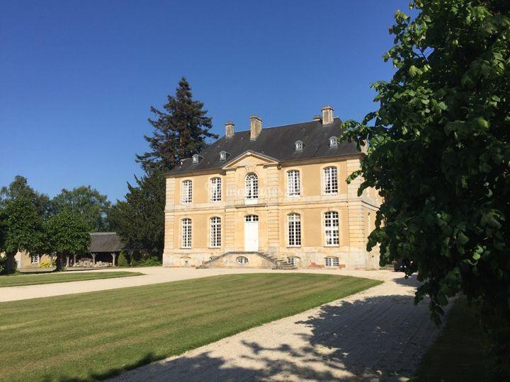 Le Mesnil d'O - façade ouest