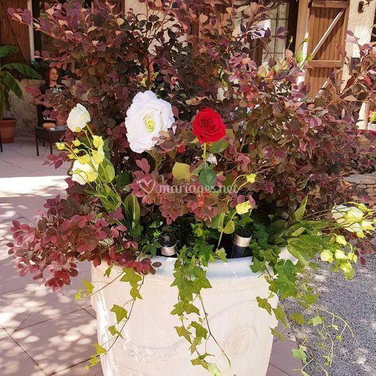 Des fleurs d'entrée
