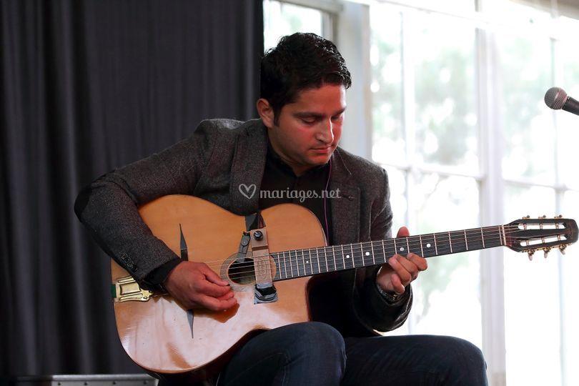 Josh guitare