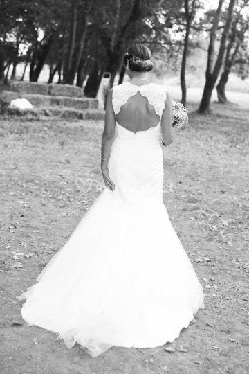 Mariée de dos