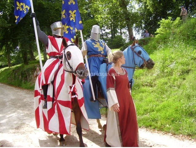 Chevaliers pour mariage