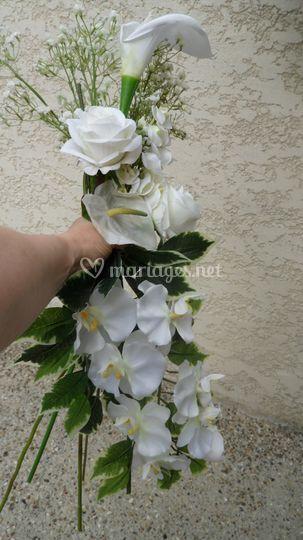 "Bouquet cascade ""innocence"""