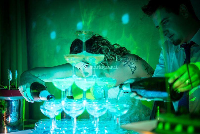 Ouverture de bal en  champagne