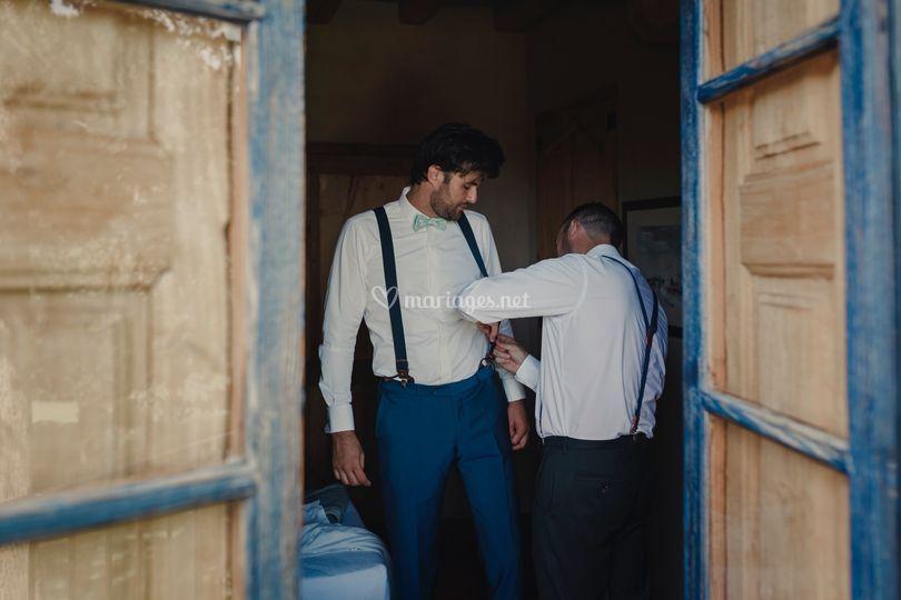 Marié costume