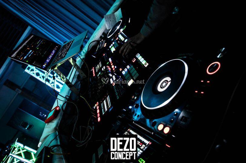 Notre régie DJ