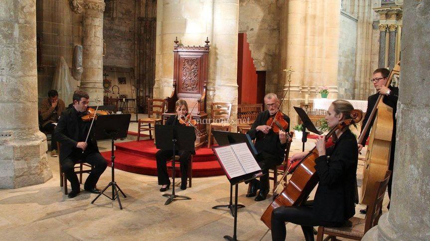 Concert public Quintette