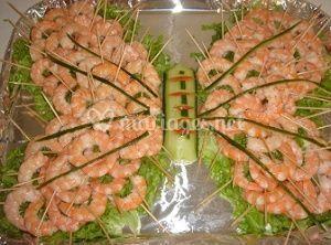 Délicieux fruits de mer