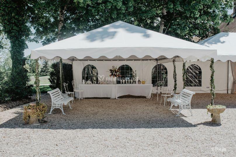 Tentes pour le cocktail-Ilkeys