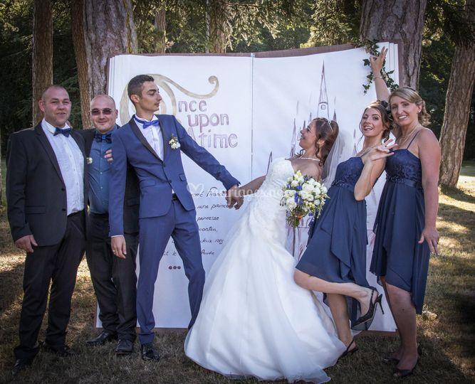 Fun mariés & témoins