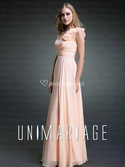 Simple robe de soirée élégante