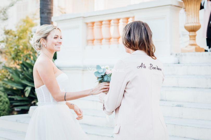 Bouquet mariée agence