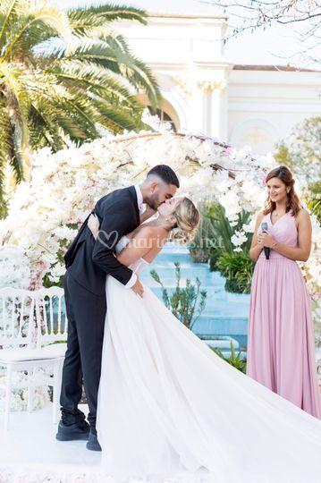 Cérémonie mariés