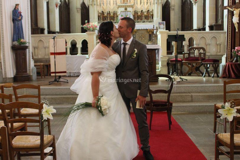 église couple