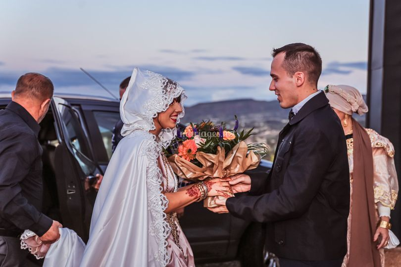 Entrer des mariee