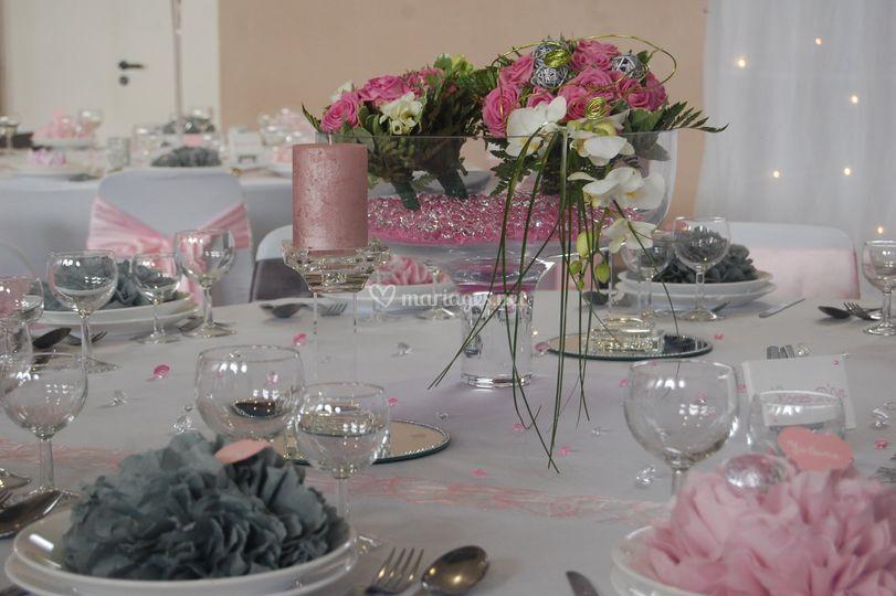 Table mariée