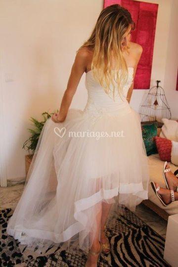 La belle et sa robe