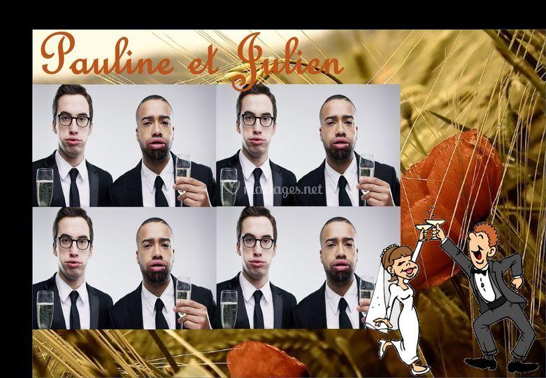 Cadre Pauline et Julien 4x4