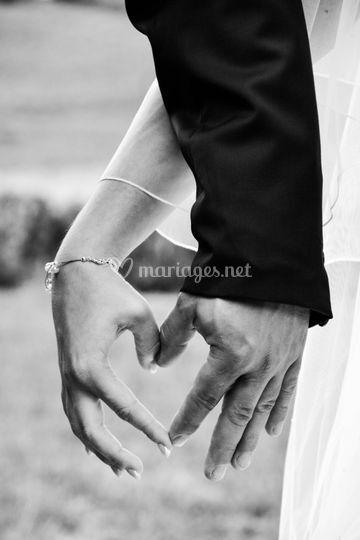 L'amour entre les doigts