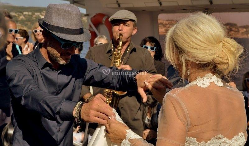 Saxophoniste de mariage PACA