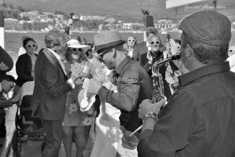 Saxophoniste Bouches du Rhône