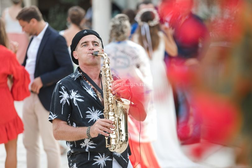 Saxophoniste Alpes Maritimes