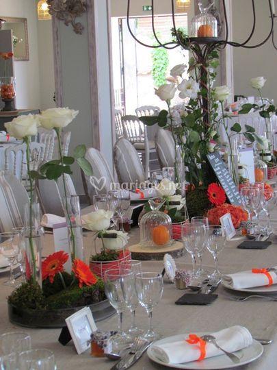 La table des mari s de comptoir saint hilaire photo 9 - Table des maries ...