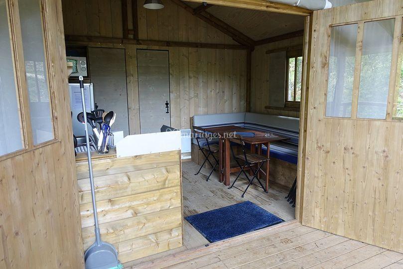 Cabane Lodge famille