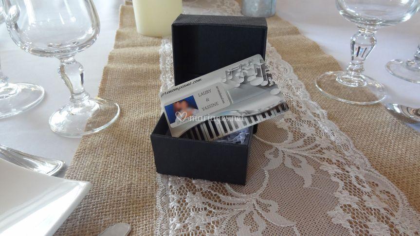 Carte USB + boîte