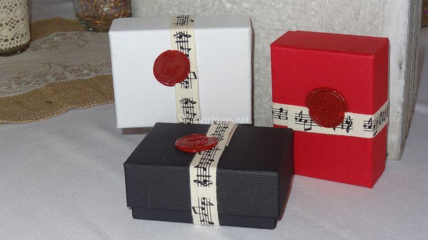 Les 3 couleurs boîtes Luxe