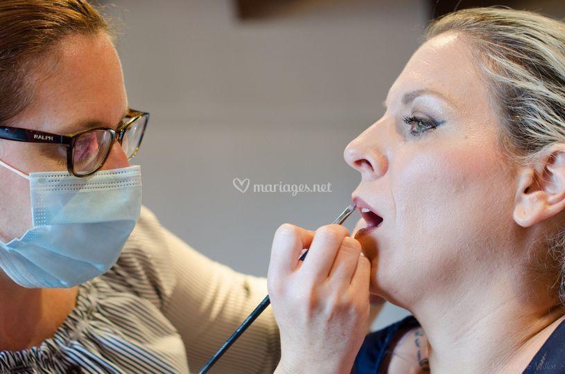 Maquillage mariée Virginie