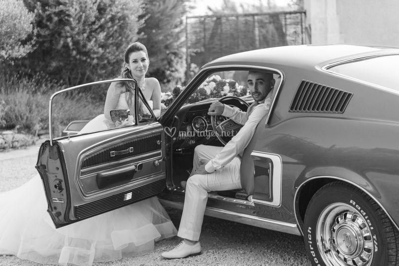 Couple voiture