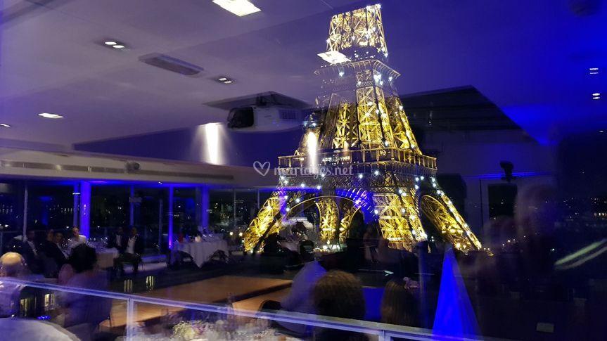 Mariage vue tour Eiffel