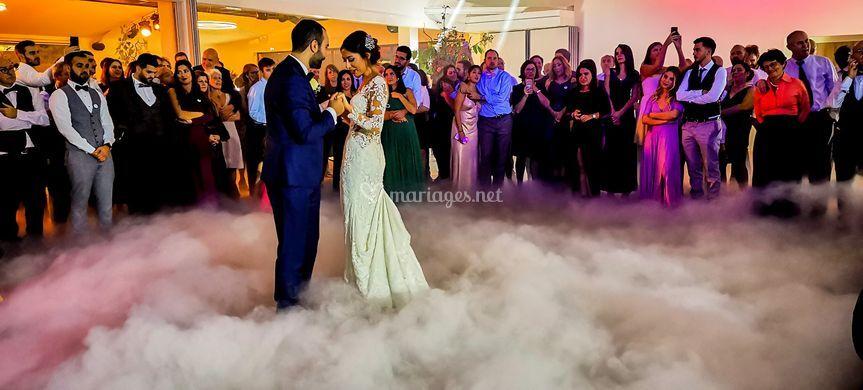 Ouverture du bal - Danse nuage
