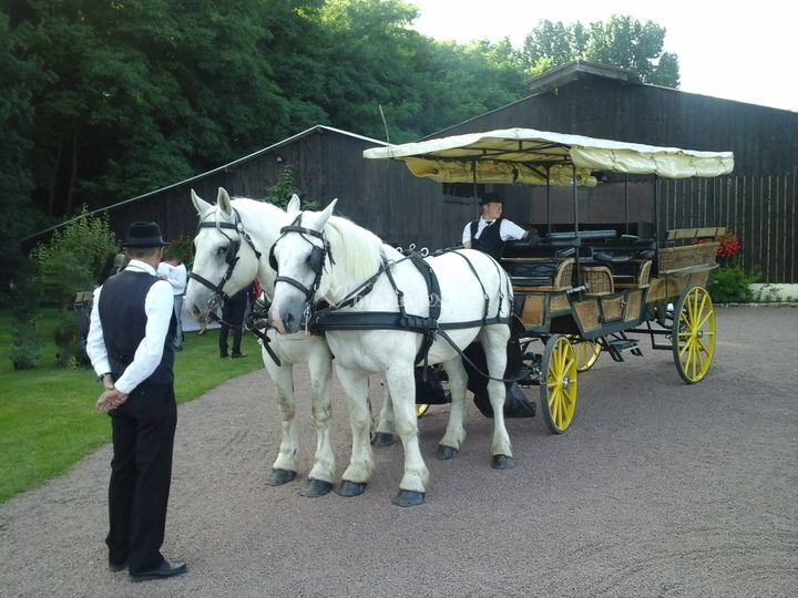 Mariage wagonnette