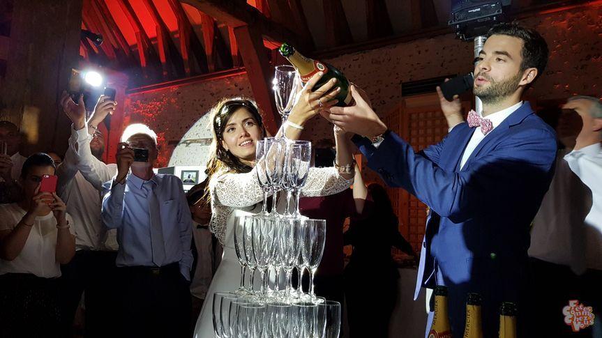 Éclairage adapté - Champagne