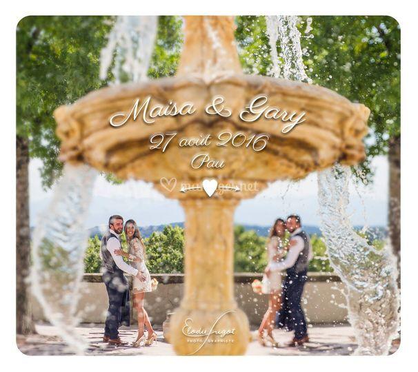 Couple à la Fontaine