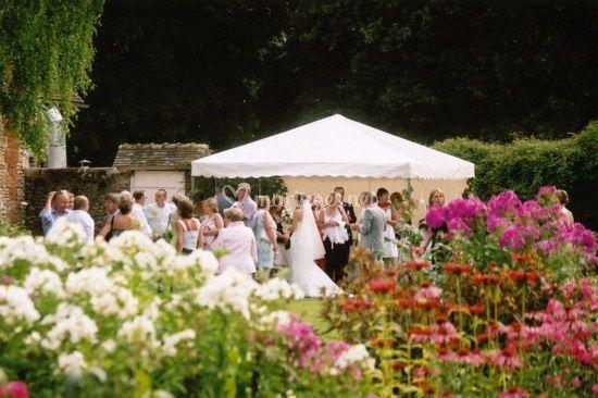 Tente pour cocktail mariages