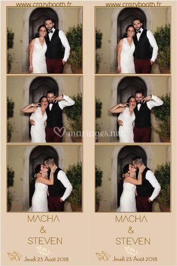 Mariage Macha et Steven
